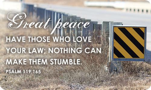 Loving GOD'S Law
