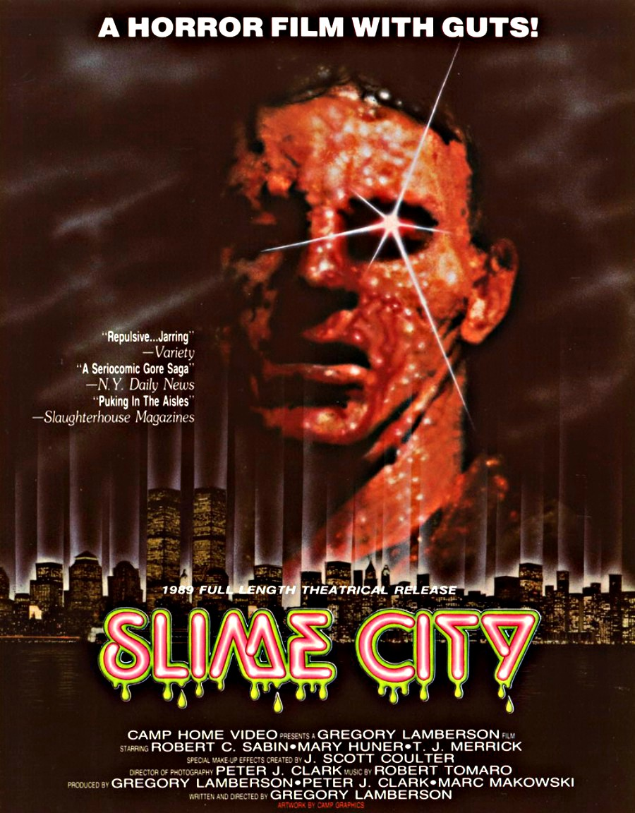 "VHS Massacre #5: Slime City one of the original ""Melt Movies""!"
