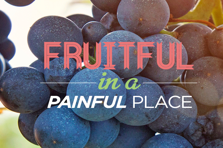 Fruitful in a Painful Place