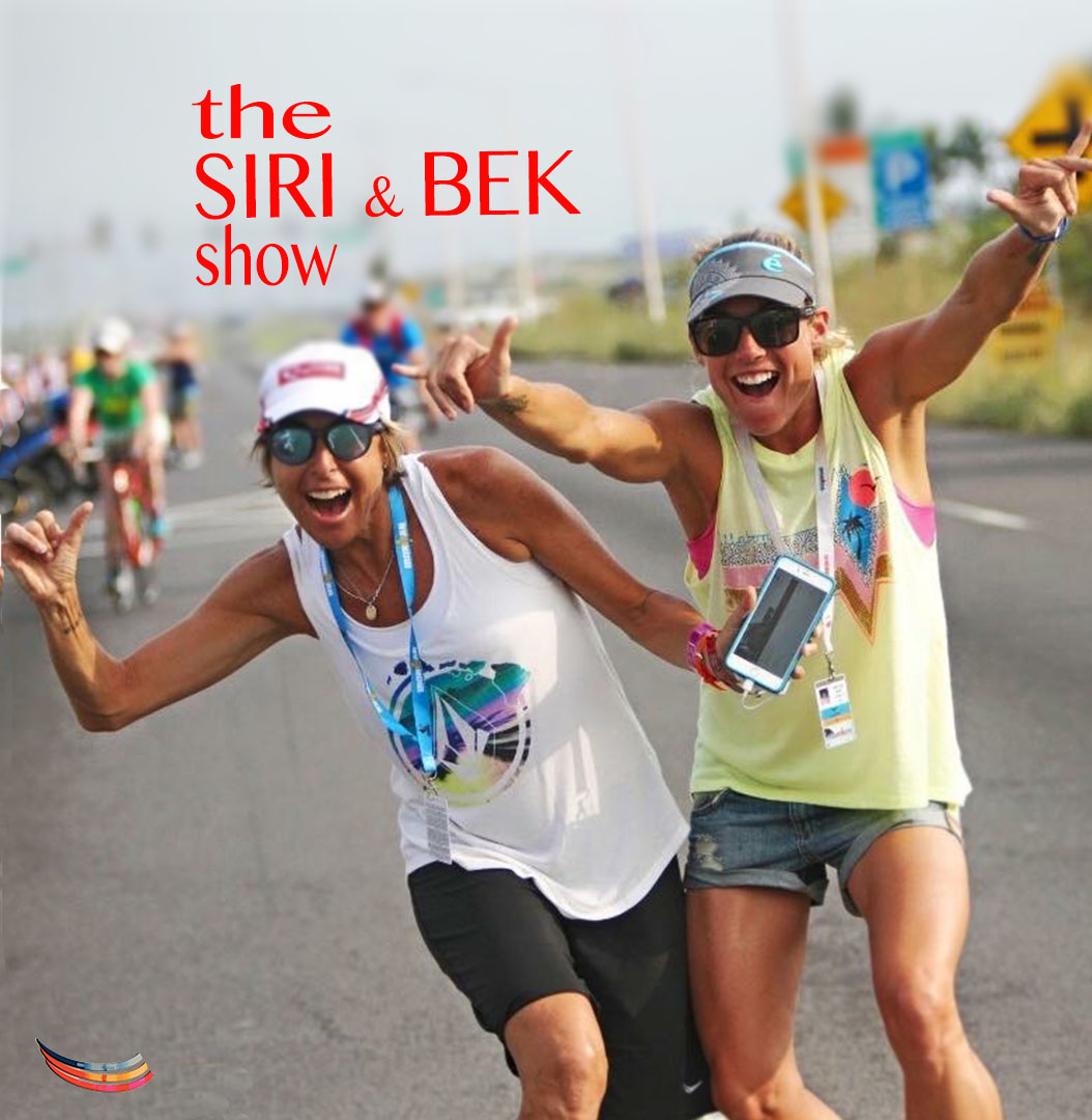 the SIRI & BEK show: S1E9 - Triathletes Top Tips for Open Water Swimming