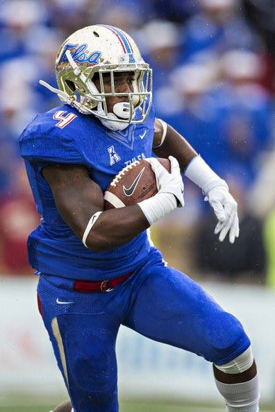 American Athletic Conference SPOTLIGHT: Dan Tortora with D'Angelo Brewer, Tulsa Golden Hurricane Running Back