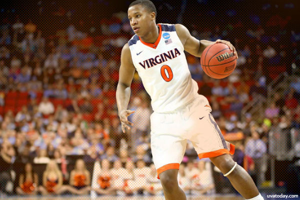 ACCTourney 1-ON-1s - Dan Tortora with Devon Hall of the Virginia Cavaliers (Championship, 2018)
