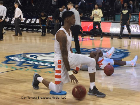 ACCTourney 1-ON-1s - Dan Tortora with Frank Howard of the Syracuse Orange (2nd Round, 2018)