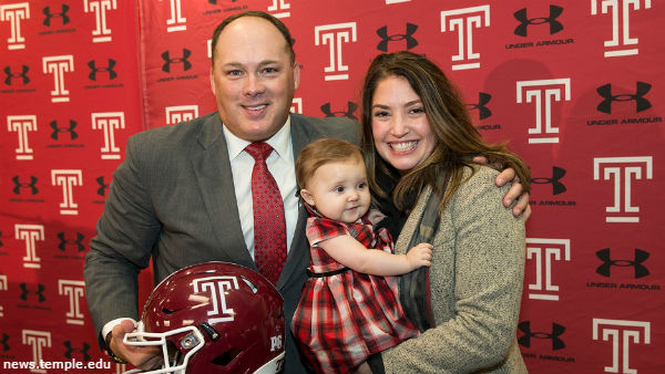 American Athletic Conference SPOTLIGHT: Dan Tortora with Geoff Collins, Temple Owls Head Coach