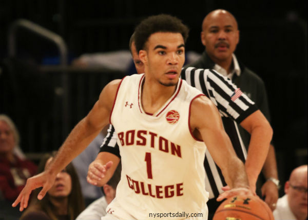ACCTourney 1-ON-1s - Dan Tortora with Jerome Robinson of the Boston College Eagles (1st Round, 2018)