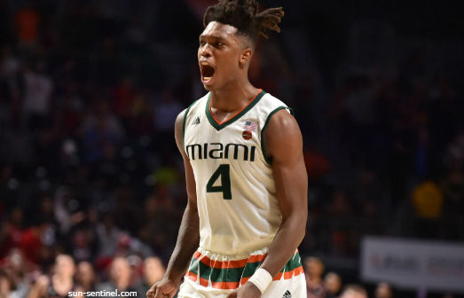 ACCTourney 1-ON-1s - Dan Tortora with Lonnie Walker, IV, of the Miami Hurricanes (Quarterfinals Round, 2018)