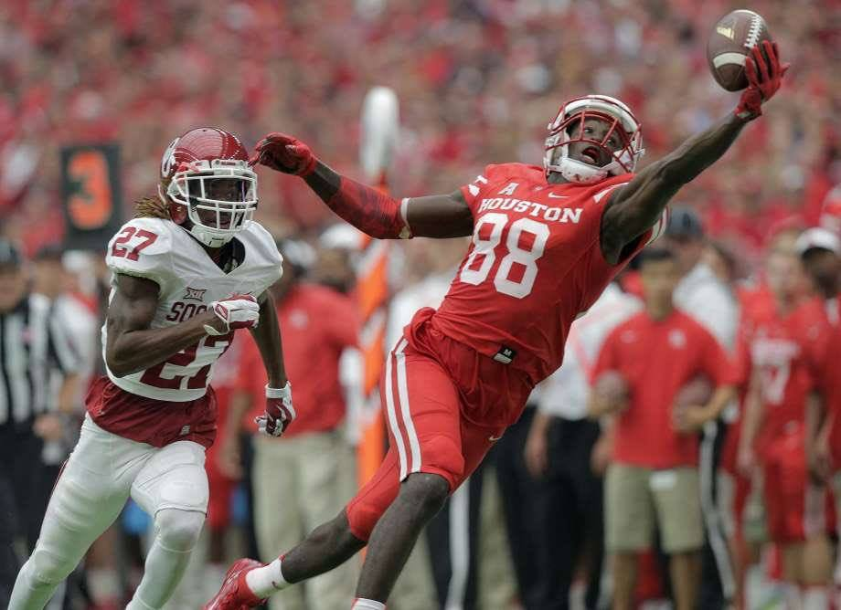 American Athletic Conference SPOTLIGHT: Dan Tortora with Steven Dunbar, Houston Cougars' Wide Receiver