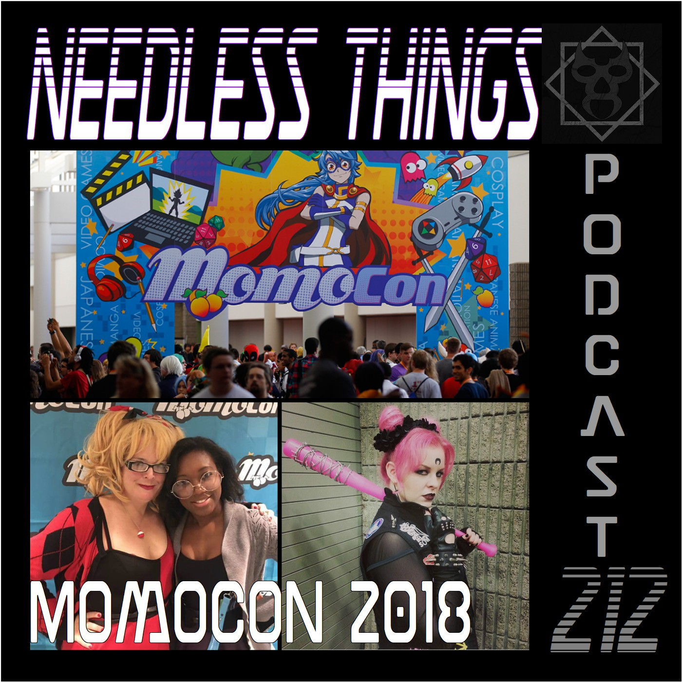 Needless Things Podcast 212 – Renee Cooper from MomoCon