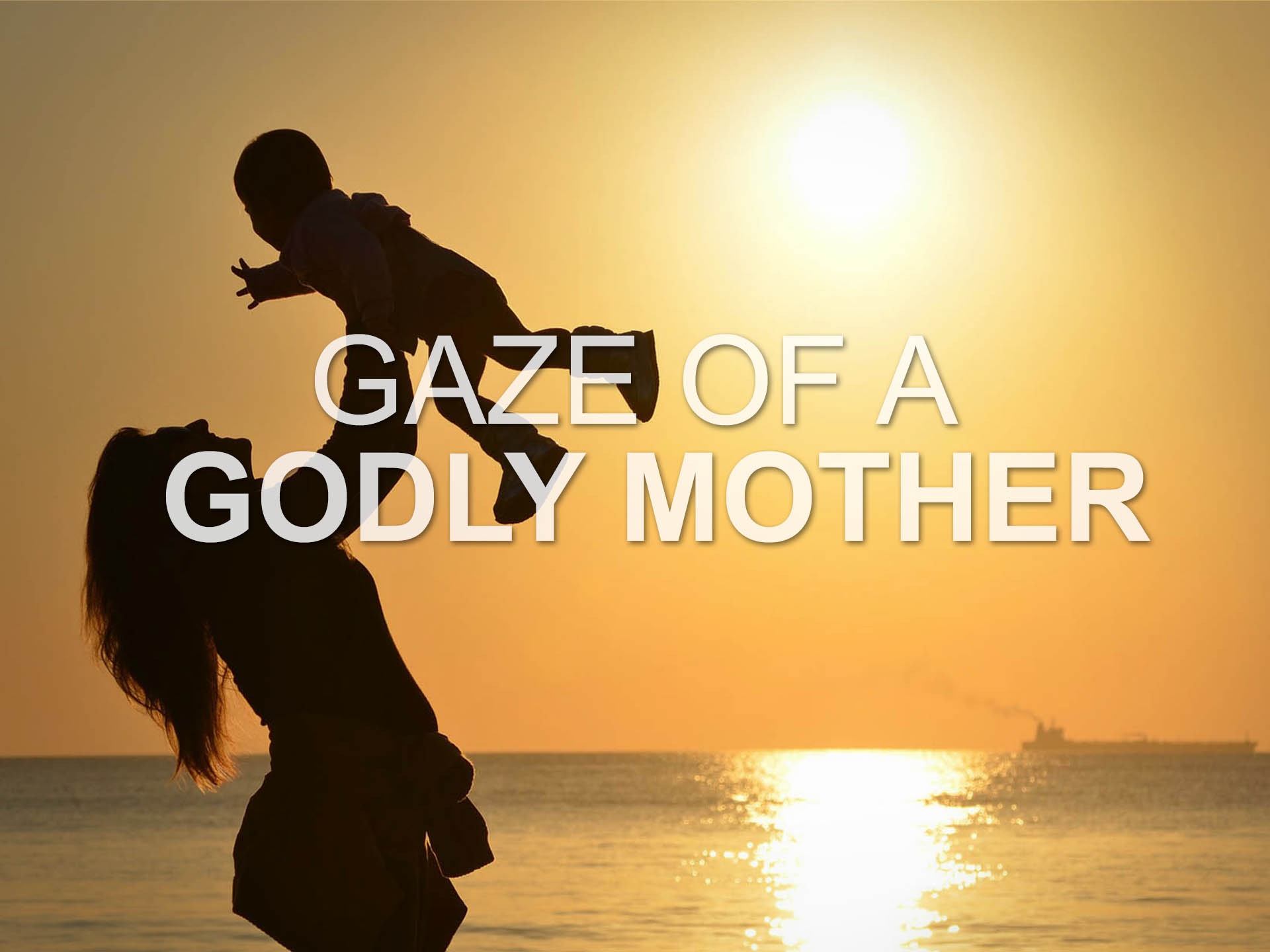 Gaze of a Godly Mother