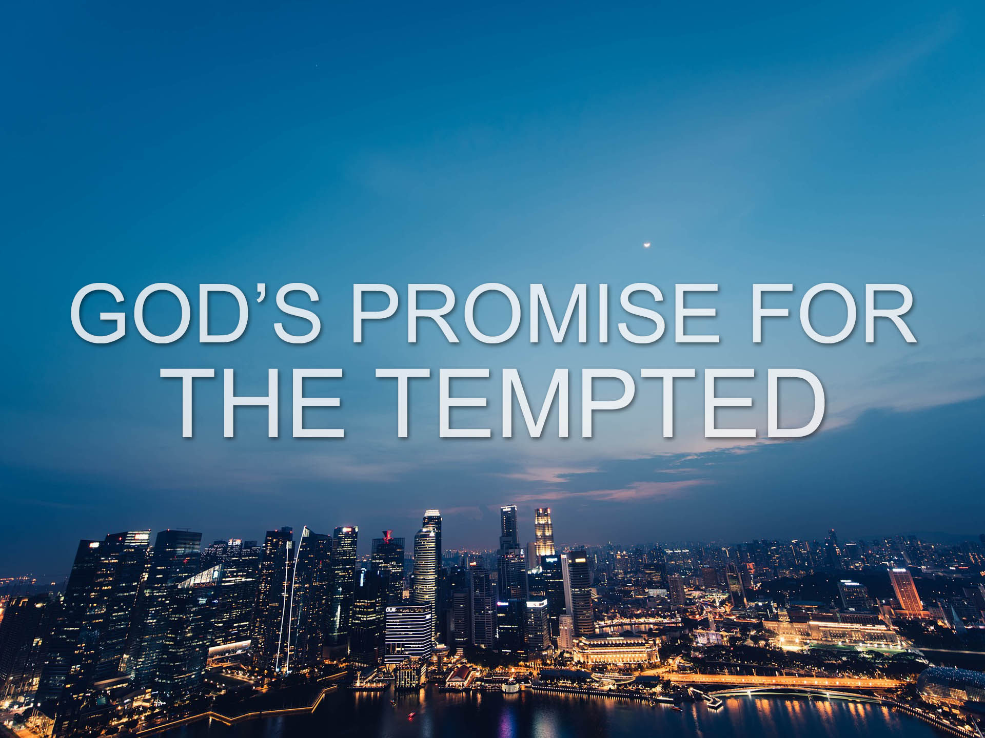 God's Promise for the Tempted