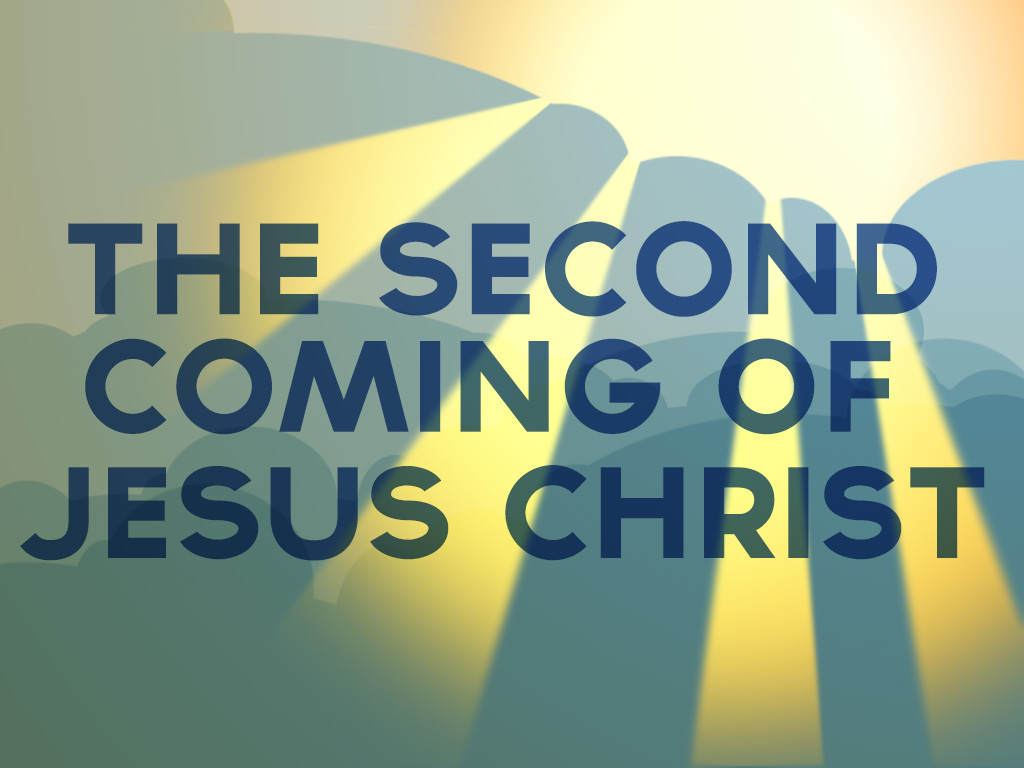 """The Second Coming of Jesus"" Genesis 5:21-24"