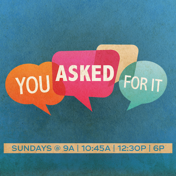 Aug 5 - Pastor Mark Zweifel - You Asked for It | Dealing with Difficult People
