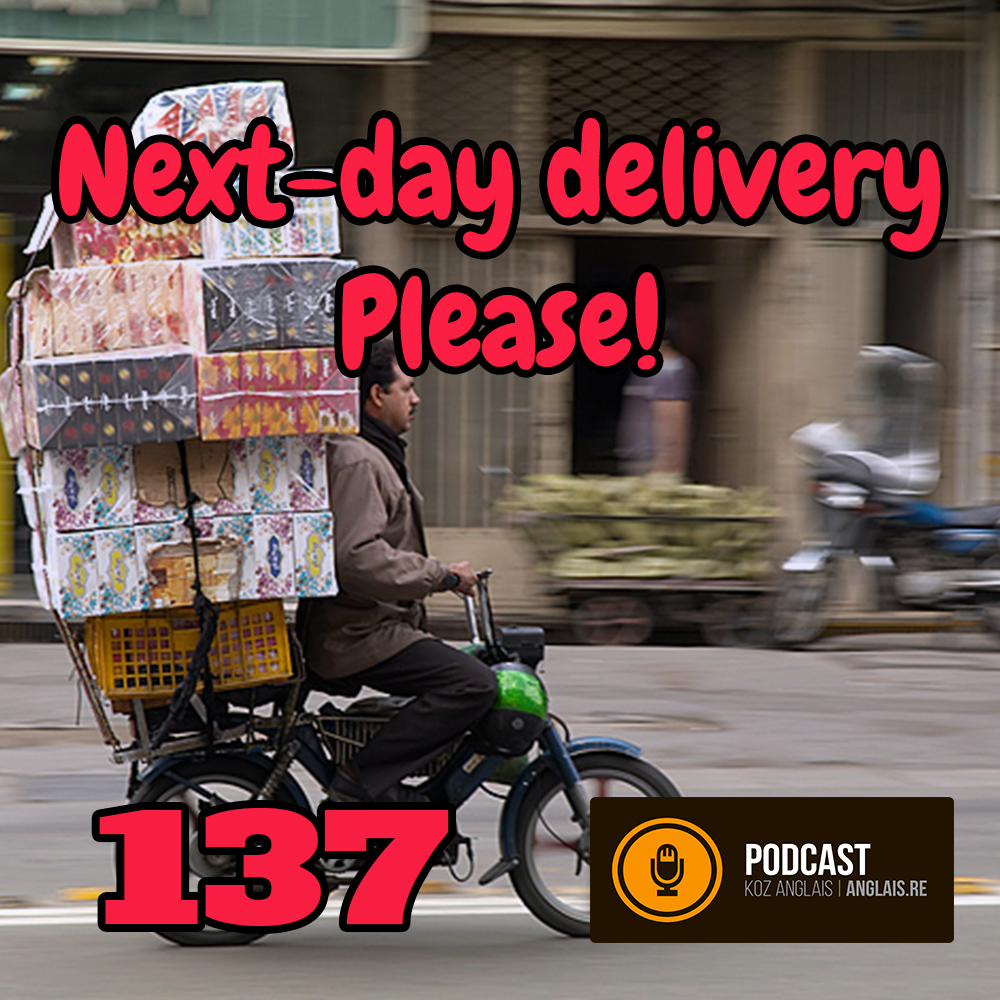 137 - Next Day Delivery Please! - Vocabulary