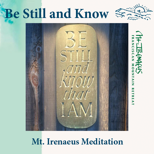 Be Still Meditation 2