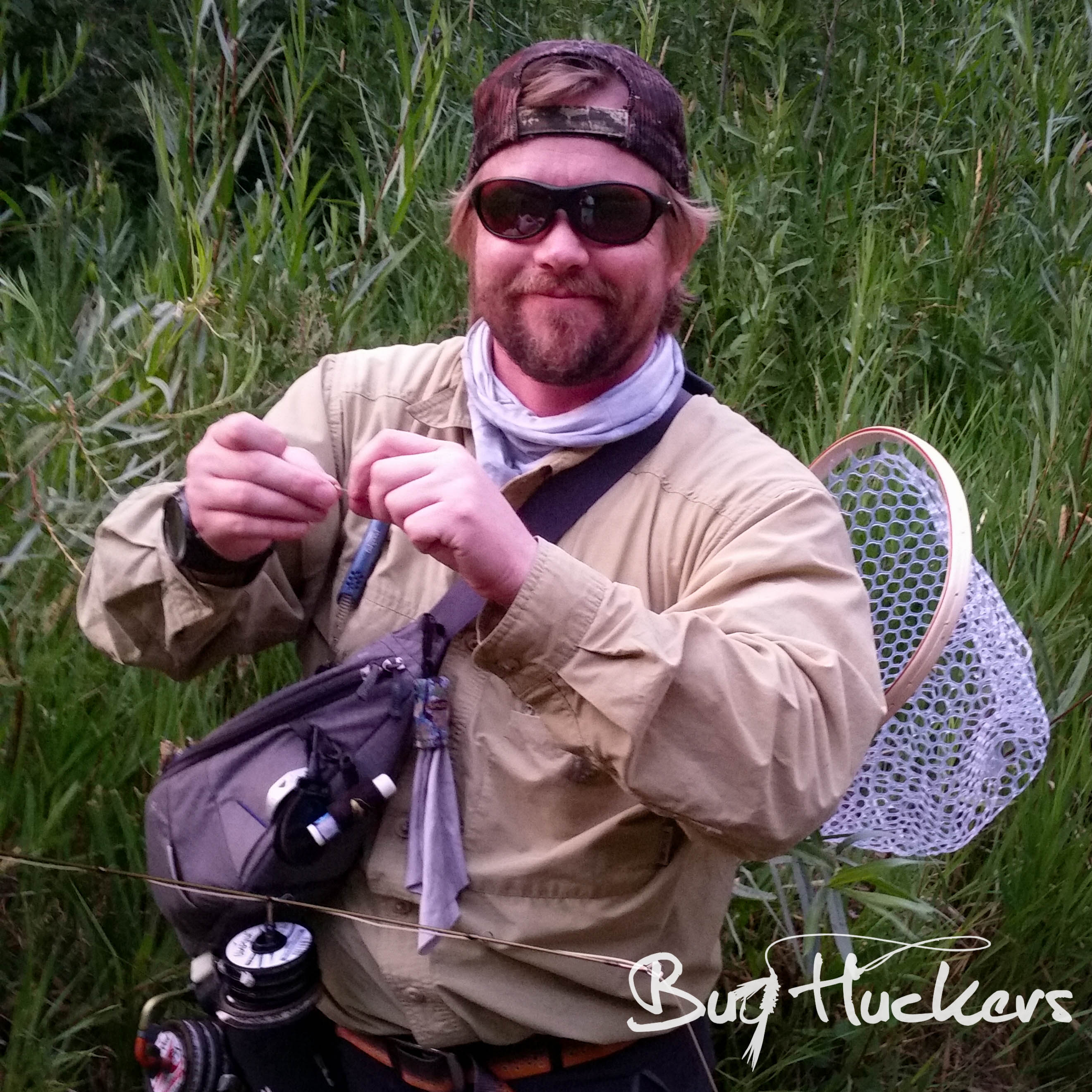 Bug Huckers Ep. 9 - Creeks and Short Casting with Grant Weaver