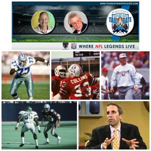 Jim Jeffcoat, Tony Collins, Ray Goff, Kerry Glenn, & Nick Athan Join Us on Thursday Night Tailgate NFL Podcast