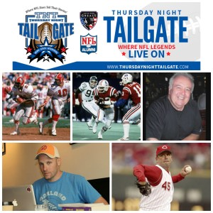 Lynn Cain, Tony Collins, Beau Bock, Jeff Pearlman, & Chris Hammond Join Us on Thursday Night Tailgate NFL Podcast