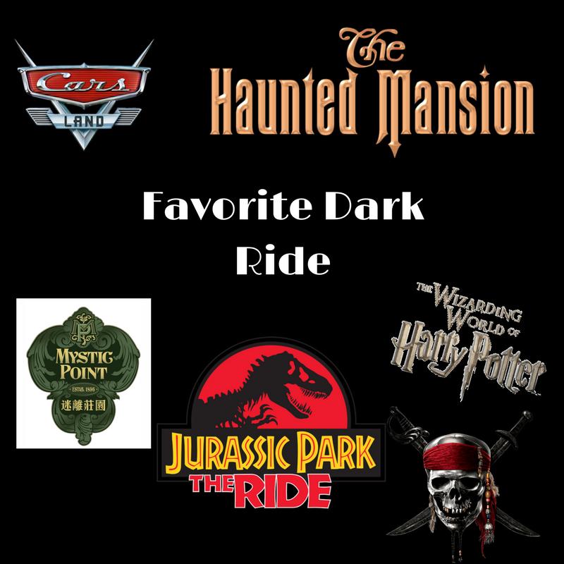 Top Five Dark Rides