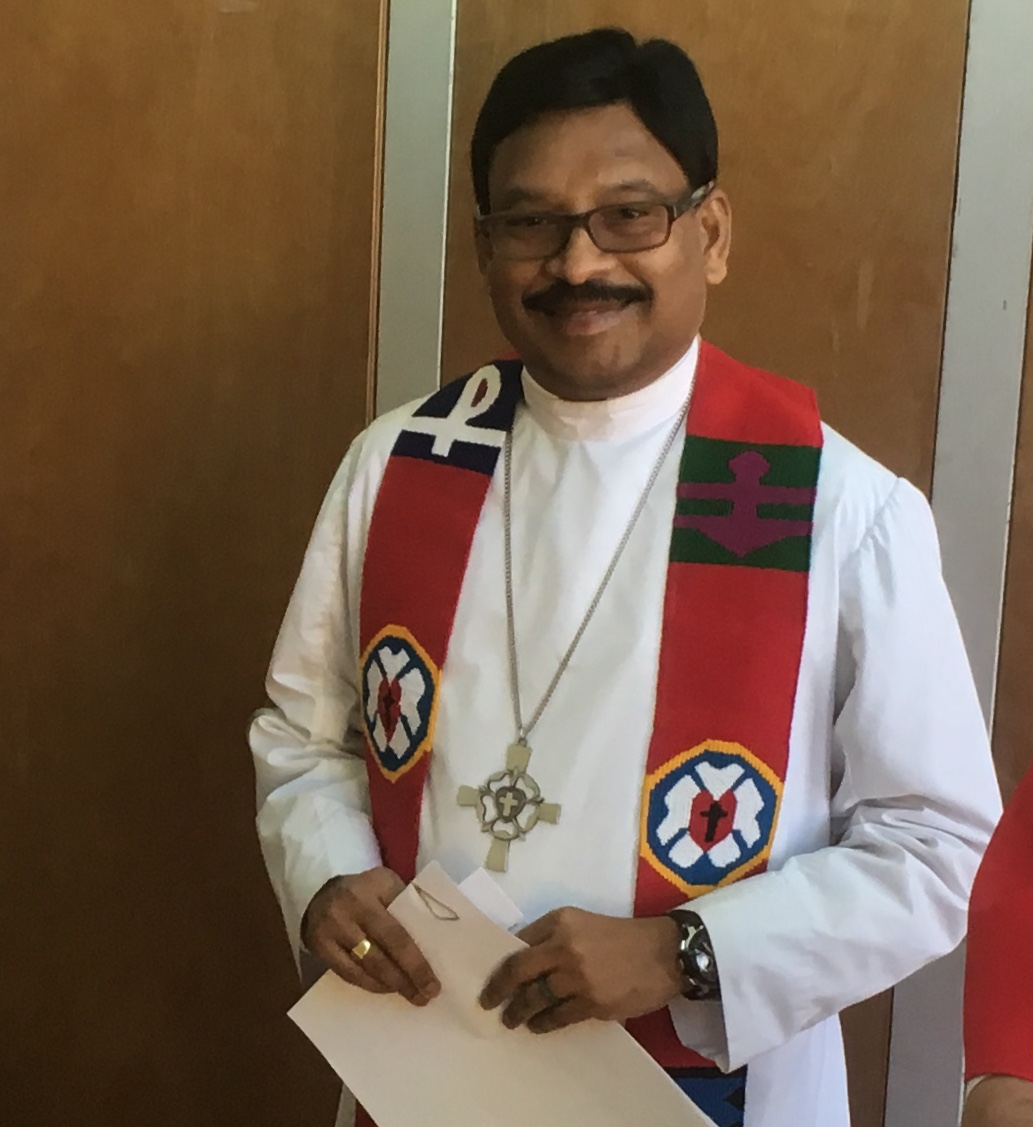 Palm Sunday Message by Rev. Alfred R. Thiagarajan. March 25, 2018