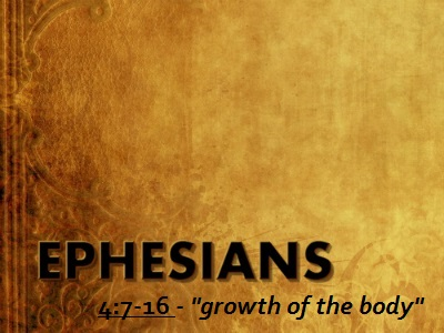 Growth of the Body - Ephesians 4:7-16 (Jeremy Bowling)