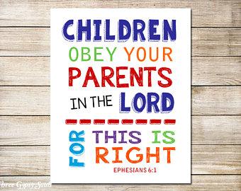 Submitting: Children & Parents - Ephesians 6:1-4 (Jeremy Bowling)