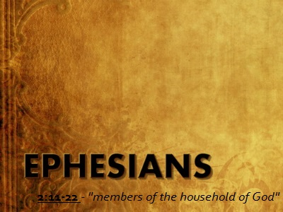 Members of the Household of God - Ephesians 2:11-22 (Jeremy Bowling)