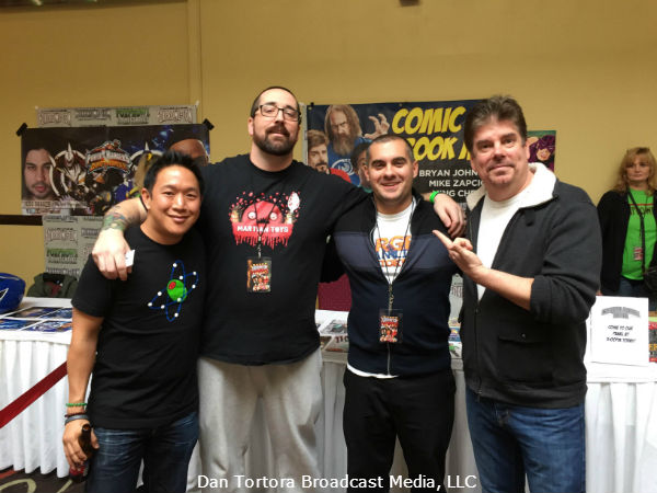 "Timeless Feature Conversation with Comic Enthusiasts & ""Comic Book Men"", Ming Chen & Mike Zapcic"