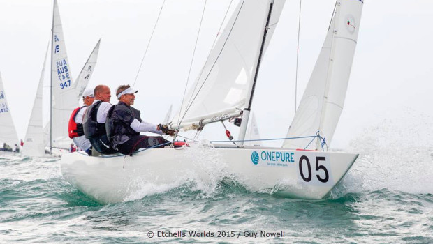 Skip Dieball looks back at his close victory in the Etchells World Championship 2015
