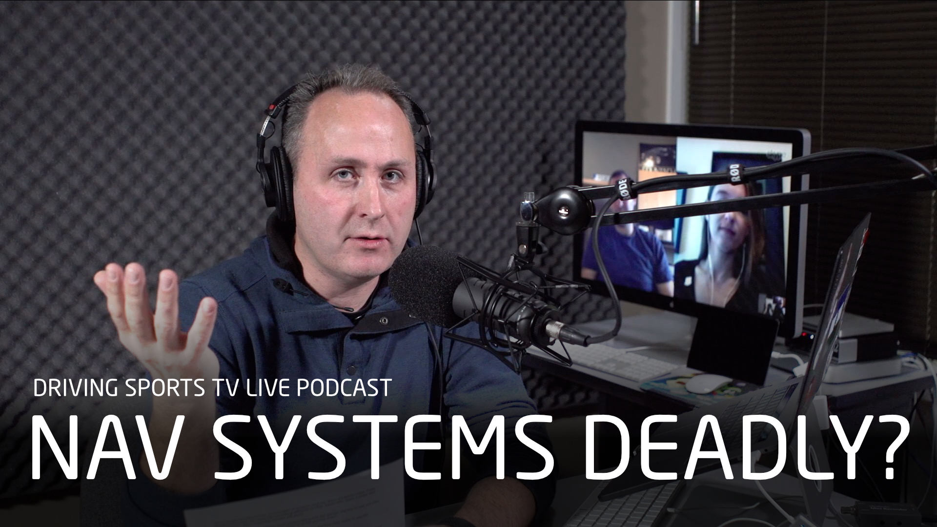Are Car Infotainment Systems Dangerous? (Audio Only)