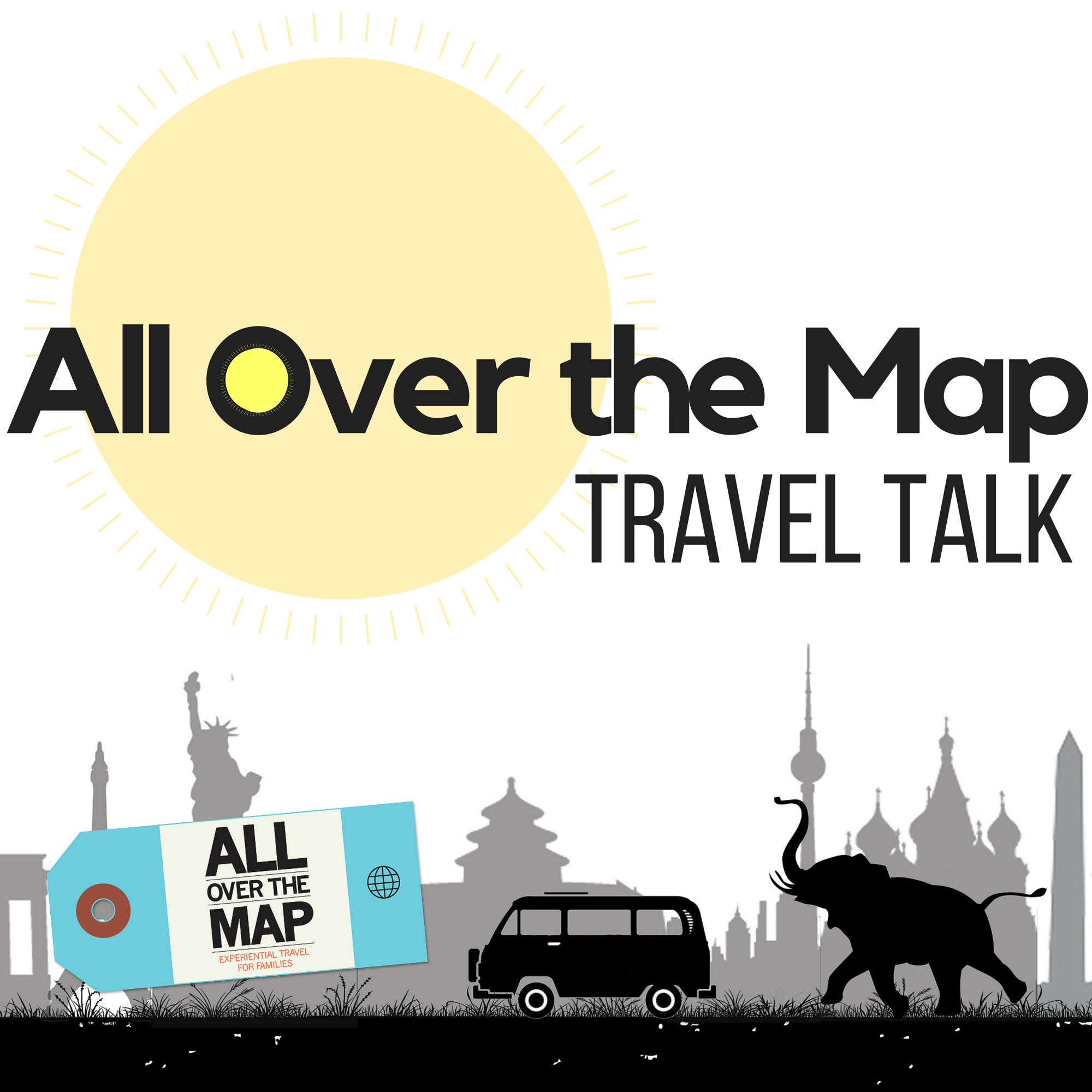 All Over the Map Travel Talk: College Visits