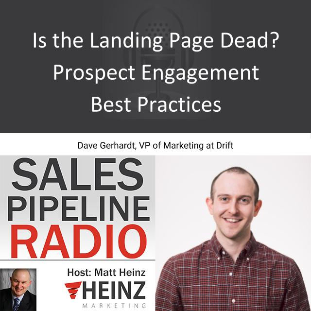 Is the Landing Page Dead?  Prospect Engagement Best Practices