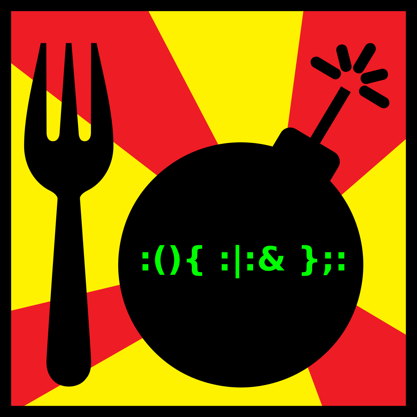 Fork Bomb - Technology and Other Nerdy Retro Stuff