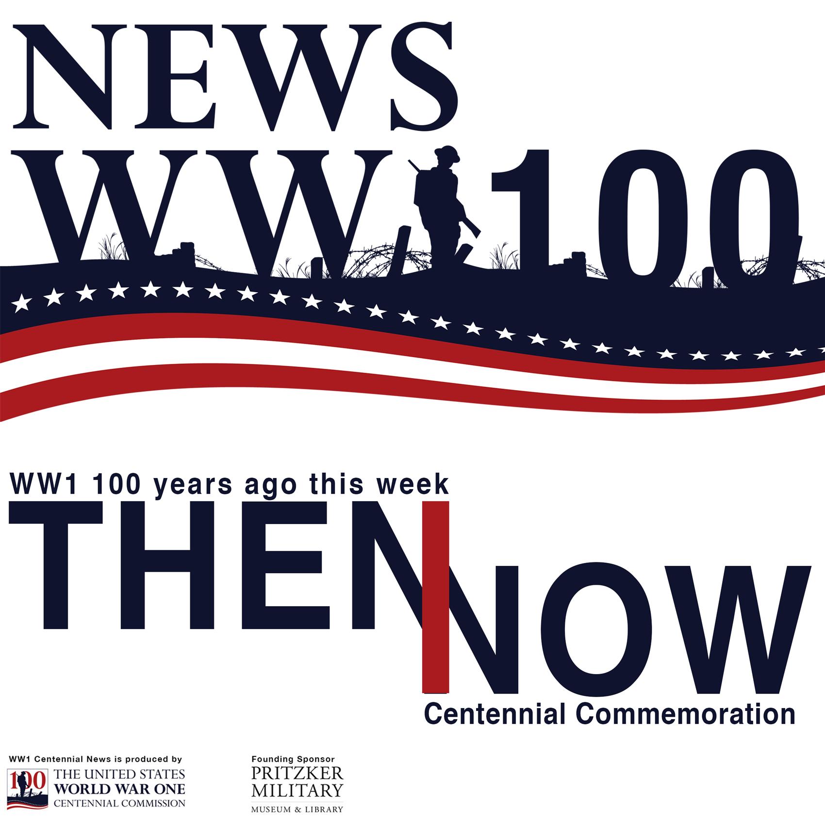 WW1 Centennial News