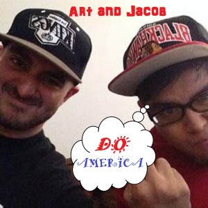 Art and Jacob Do America