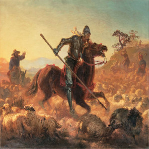 Don Quijote im Abendland