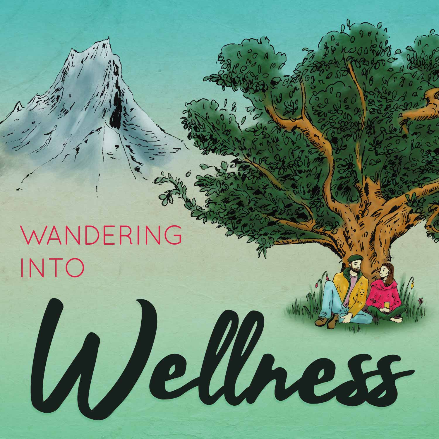 Image result for wandering into wellness podcast