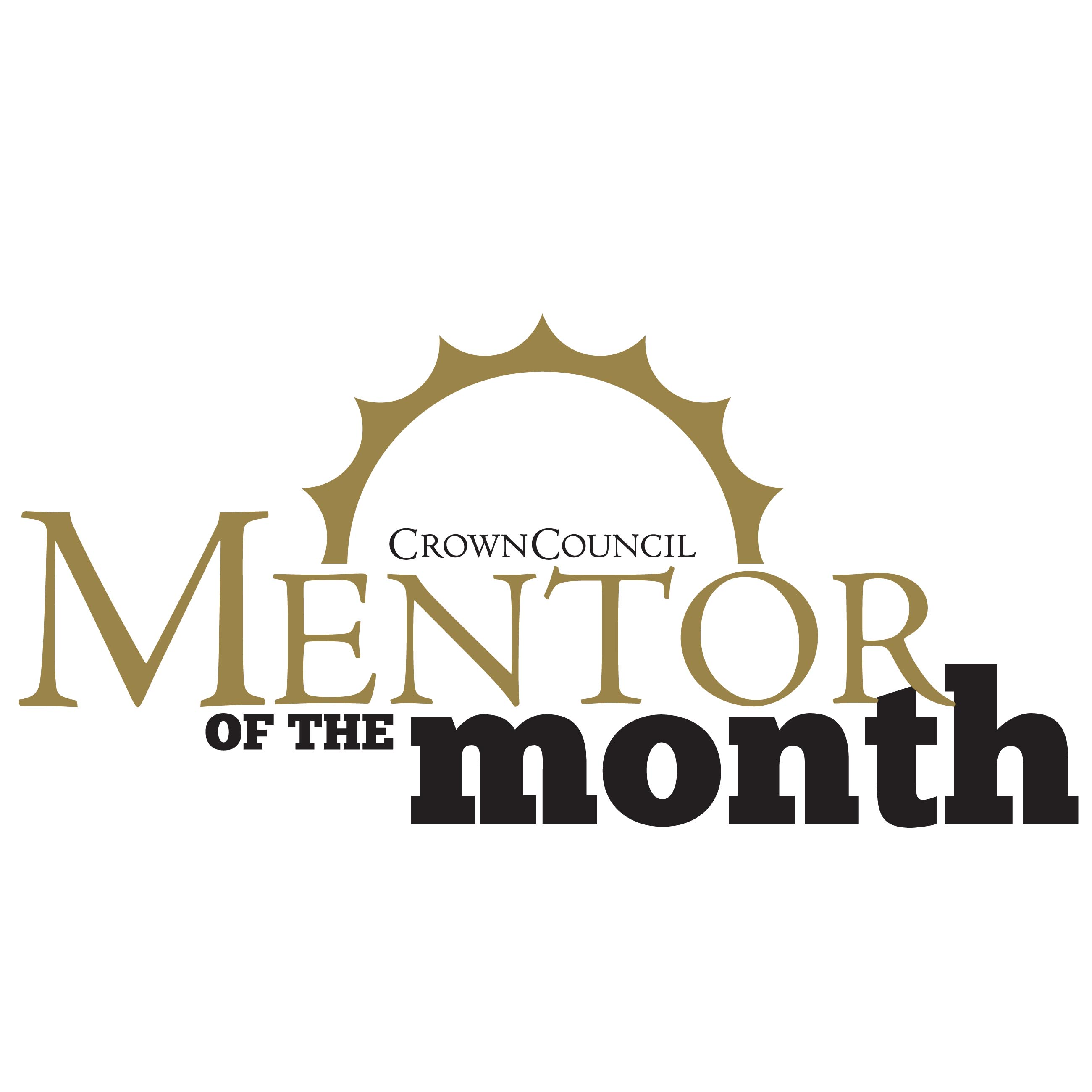 Crown Council Mentor of the Month