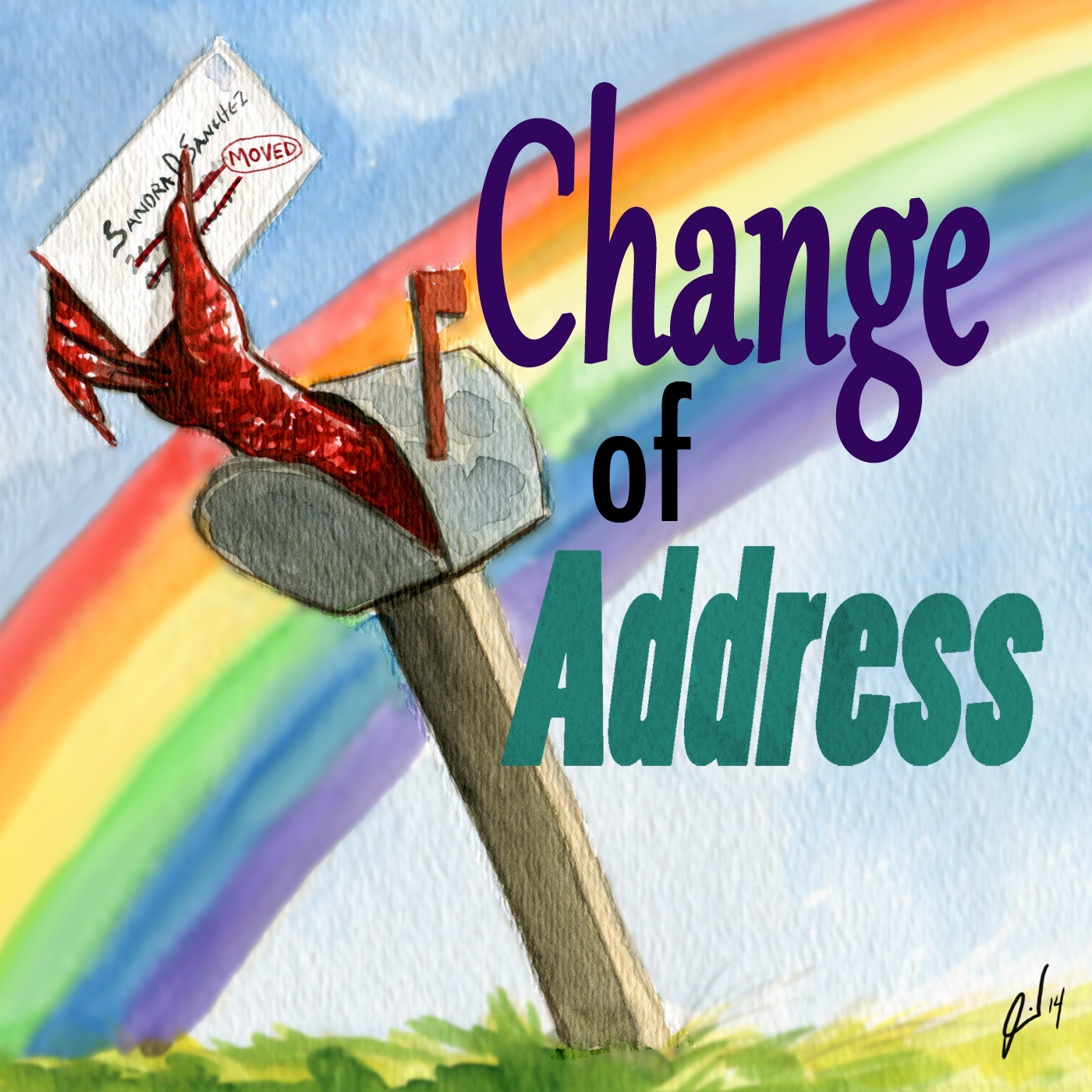 Change of Address-Lesbian Comedy Podcast