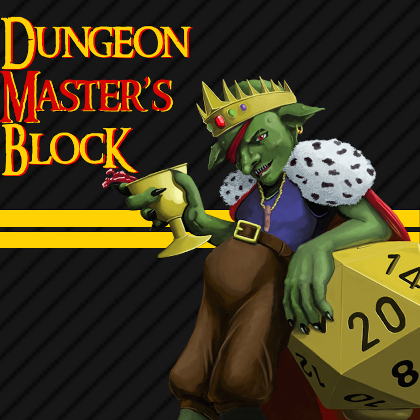 Dungeon Master's Block logo