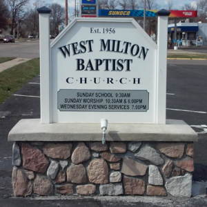 West Milton Baptist Church