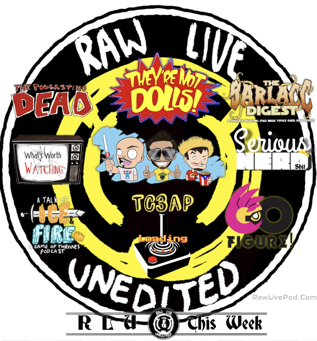 Raw, Live & Unedited a Pop Culture Podcasting Network