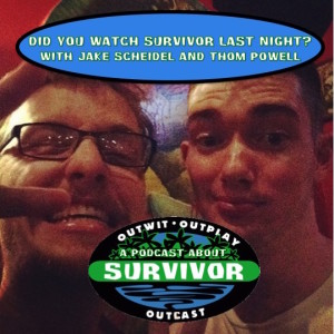 Did You Watch Survivor Last Night?