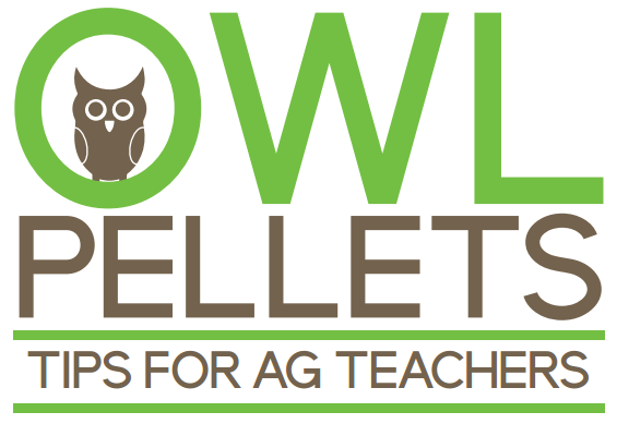 Owl Pellets for Ag Teachers