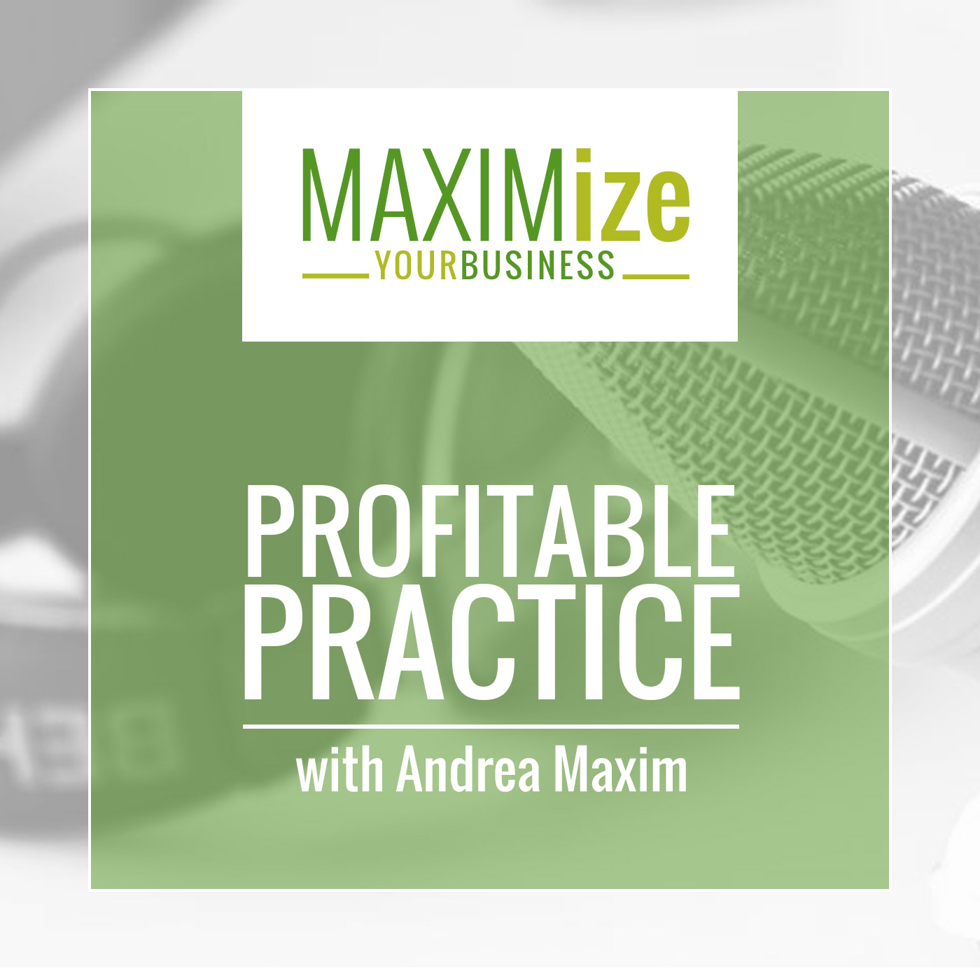 Profitable Practice Podcast with Andrea Maxim