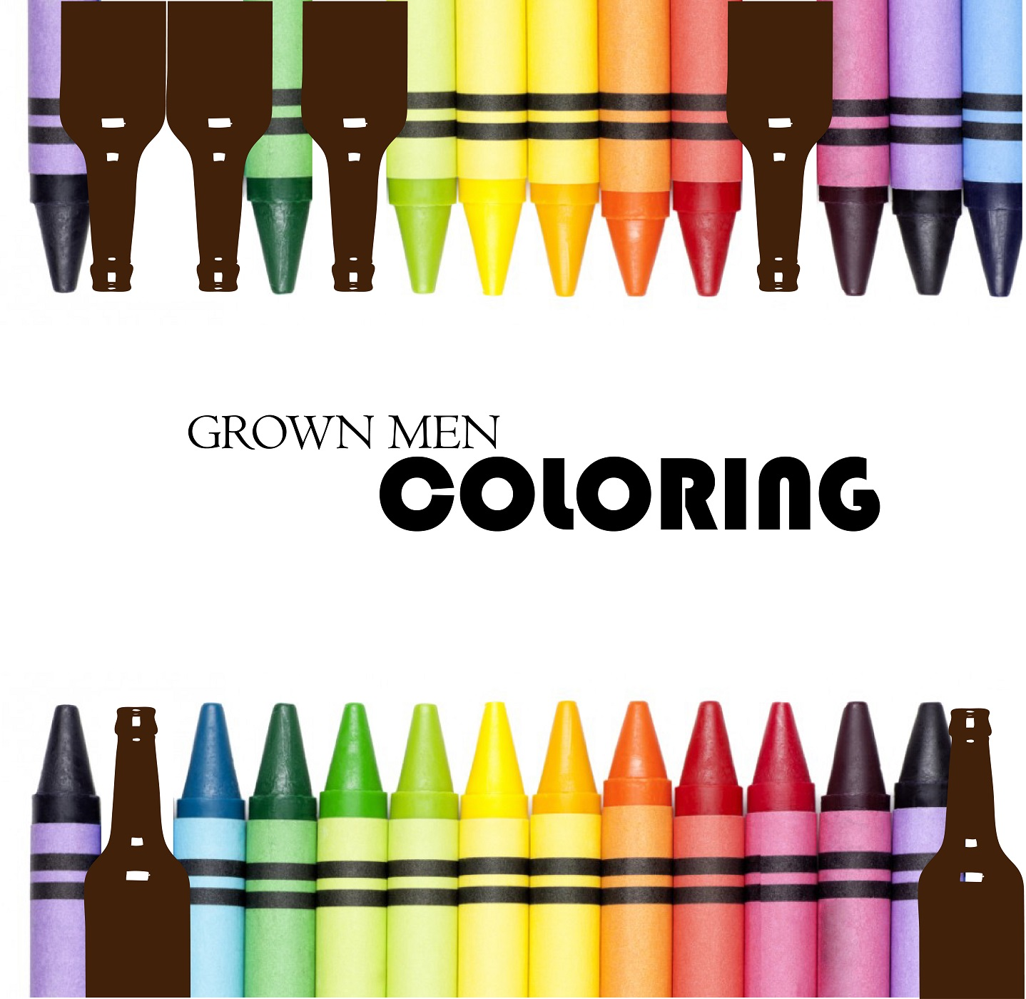 Grown Men Colouring